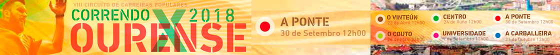 Correndo por Ourense 2018 - Consello Municipal de Deportes